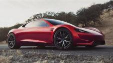 Tesla ukazuje nový elektrický sporťák Roadster poprvé za jízdy