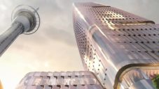 V novozélandském Aucklandu vyroste třpytivý mrakodrap 65 Federal Street