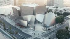 Walt Disney Concert Hall se stala projekčním plátnem pro videomapping
