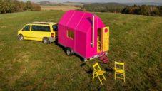 Český domek na kolech Magenta Tiny House si doma vyrobíte sami