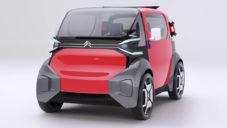 Citroën ukázal koncept městského vozítka Ami One pro dva pasažéry