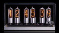 Zin18 jsou kompaktní stolní hodiny se šesti číslicovými výbojkami