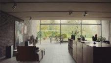 Architekt a designér Knud Holscher ukazuje svůj téměř 50 let starý dům u Kodaně