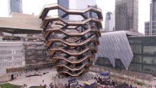 New York otevřel novou čtvrť Hudson Yards s vyhlídkovou věží Vessel
