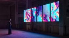 Meandering River ukazuje pomocí art instalace změnu klimatu na řekách