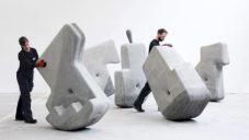 Matter Design navrhli modulární betonové bloky s lehkou manipulací