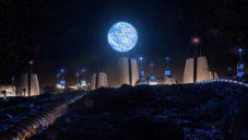 SOM navrhli koncept města pro stálé osídlení Měsíce lidmi v roce 2050