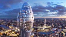 Londýn povolil výstavbu 300 metrů vysoké vyhlídkové věže The Tulip