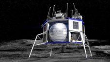 Lunární modul Blue Moon má na Měsíc dopravit náklad i lidskou posádku