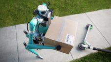 Ford spojil autonomní auto s robotem a ukázal doručovací službu budoucnosti