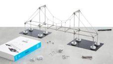 Mola je magnetická stavebnice pro výuku architektonických struktur