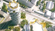 Central Group ukázal další návrhy i animaci Centra Nového Žižkova od Jiřičné