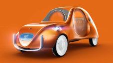 Martin Hajek navrhl ikonickou Kachnu pro 21. století jako Citroën eCV