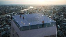 Na střeše mrakodrapu v Londýně postaví nekonečný 360stupňový bazén