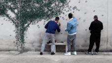 Pejac pomaloval betonové zdi nejstaršího španělského vězení El Dueso