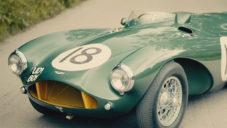 Závodní unikát Aston Martin DB3S z roku 1953 jde do aukce