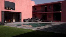 César Cervantes rekonstruoval více jak 70 let starou vilu od Luise Barragána