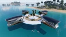 Wojciech Morsztyn navrhl plovoucí domy na dobu po zvýšení hladin oceánů