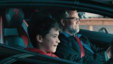 Lamborghini půjčilo na Vánoce model Aventador rodině stavící repliku