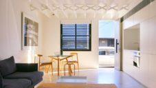 Loftový dům v Sydney má dvě podlaží a užitnou plochu pouhých 35 metrů