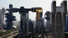 Animátoři naznačili psychedelický vývoj architektury velkých měst