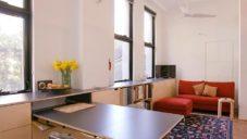 Starší pár si nechal přestavět interiér bytu s plochou jen 38 metrů