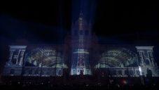 Praha vyměnila ohňostroj za novoroční videomapping na Národní muzeum