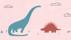 Ručně kreslený videoklip vypráví dojemný příběh o lásce dinosaurů