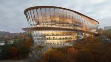 Ruské město Perm postaví operní halu od kalifornských architektů