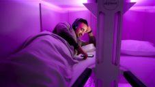 Air New Zealand zavádí ve svých letadlech speciální hnízda s postelemi