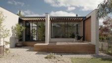 Architekti rozšířili starý dům v Daylesfordu moderní přístavbou