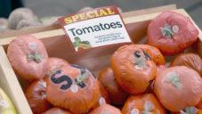 New York otevřel obchod s potravinami z obalového plastu jako varování