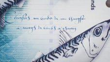 Susie Leiper ozdobila nové bankovky Skotska svými kaligrafiemi