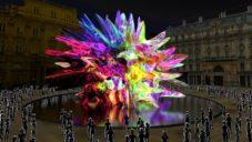 Ve Španělsku plánují po porážce pandemie postavit multimediální sochu