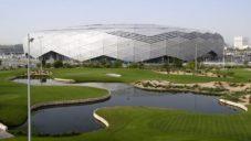 Katar dokončil stadion Education City pro fotbalové mistrovství v roce 2022