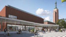 Mecanoo proskleným křídlem promění rotterdamské Museum Boijmans Van Beuningen