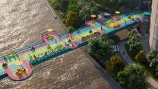 100 Architects přestaví most v Šanghaji na pestrobarevnou atrakci