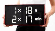 Albert Clock jsou digitální hodiny nejen pro děti učící je matematiku