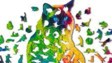 Nervous System vytvořili puzzle kočky složené z 224 malých koček