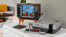 Lego vytvořilo interaktivní vzpomínku na herní konzoli Nintendo Entertainment System