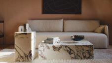 Menu natočilo ruční výrobu minimalistických mramorových stolků Plinth