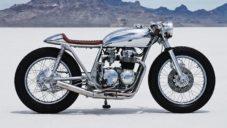 Thirteen and Company přestavěli motorku Honda CB550 z roku 1977 na Amber II