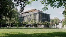 Snøhetta postavila ze dřeva zelené kanceláře rakouské ASI Reisen