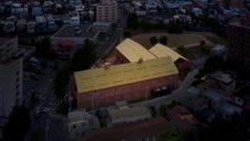Muzeum moderního umění v Hirosaki vzniklo konverzí bývalých skladů