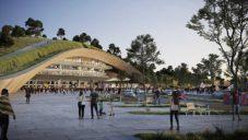 Španělé navrhli přikrýt stadion Camp Nou a přilehlá hřiště velkým parkem