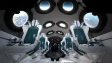 Seymourpowell navrhli pro Virgin Galactic design interiéru SpaceShipTwo