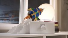 Lego a Ikea se spojili a vytvořili pro děti hravé úložné boxy Bygglek