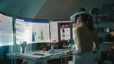 Facebook ukázal virtuální kancelář Infinite Office přes jejich Oculus