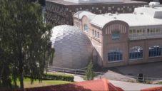 Ve Švédsku rozšířili věděcky zaměřený kampus školy o přednáškovou kupoli