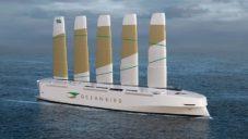 Oceanbird je revoluční dopravní loď poháněná větrnou energií